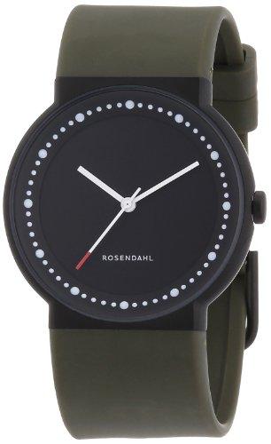 Rosendahl - 43253 - Montre Homme - Quartz - Analogique - Bracelet Caoutchouc Vert