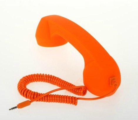 Niceeshop(Tm) Generic Universal Classic Retro Handset For Iphone4/5 / Ipad/Ipad2 / Ipod / Samsung / Htc -Orange