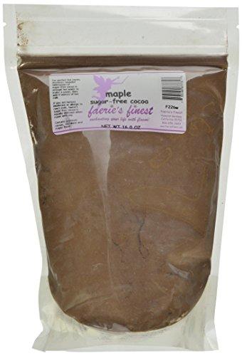 Faeries Finest Sugar-Free Cocoa, Maple, 16 Ounce