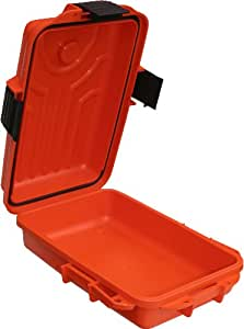 MTM Survivor Dry Box with O-Ring Seal (Orange, Small)