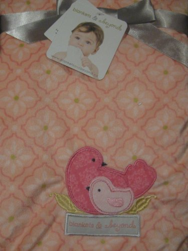 Blankets and Beyond Baby & Momma Bird Super Soft Baby Blanket - 1