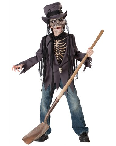 Incharacter Costumes Llc Boys' Grave Robber Boy's Costume