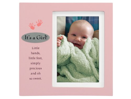 Malden Verses Juvenile Plaque Picture Frame, Pink