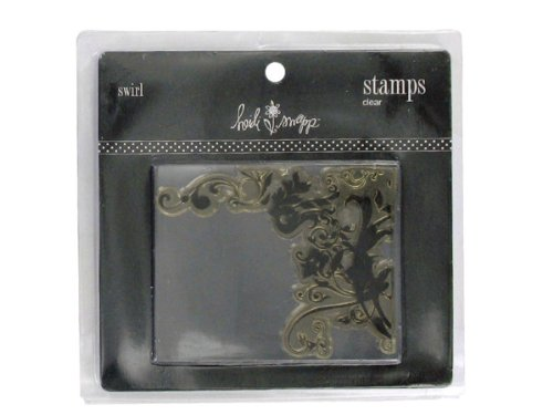 clear stamp image swirl - Pack of 36