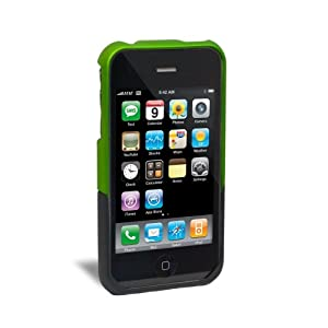 iFrogz Luxe Case for iPhone 3G, 3G S (Green/Black)