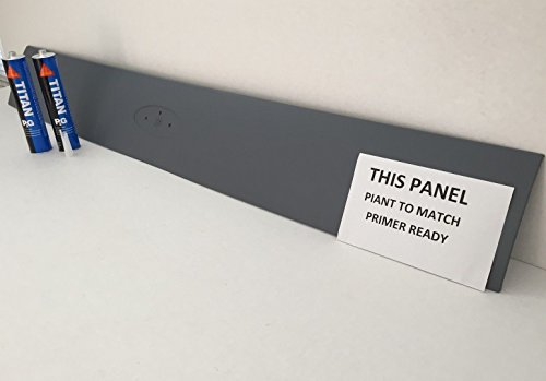 2002-2005 Ford Explorer Rear Hatch TailGate Panel Trim W/ Sealant Primer Ready Pain to Match DB10556PLPR (Ford Emblem Back Of Explorer compare prices)