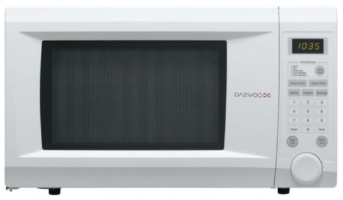 Daewoo KOR1NOA 31 litre 1000 watt Family Size Touch Control Solo Microwave Oven, White