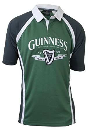 Buy Guinness Green Trademark Rugby Jersey by Guinness