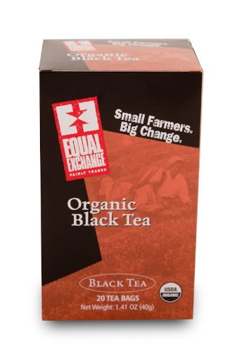 Equal Exchange Organic Black Tea, 20-Count (Pack Of 3)