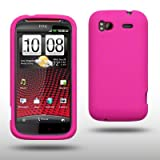 HTC SENSATION / HTC SENSATION XE SILICONE SKIN BY CELLAPOD CASES HOT PINKby CELLAPOD