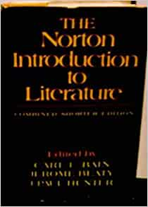 The norton introduction to literature online book