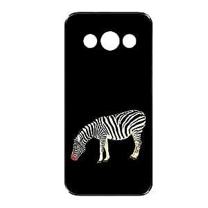 Vibhar printed case back cover for Samsung Galaxy E5 MyZebra