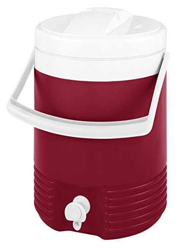 Igloo Legend Beverage Cooler (Red, 2-Gallon) (Cooler 2 Gallon compare prices)