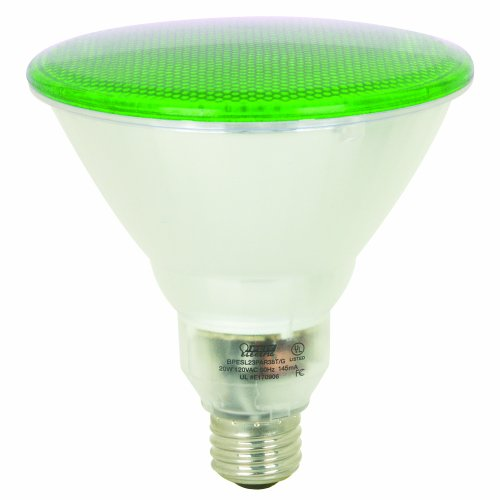 Feit Electric Bpesl23Par38T/G 23-Watt Par 38 Outdoor Compact Fluorescent Light Bulb, Green