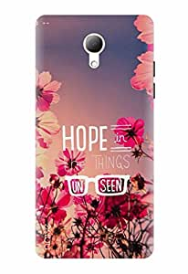 Noise Printed Back Cover / Designer Case For Intex Cloud 4G Star / Floral / Flower Design