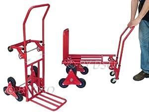 Pro user chariot 120kg diable a plat pour monter les escaliers st502 amazo - Diable motorise pour escalier ...