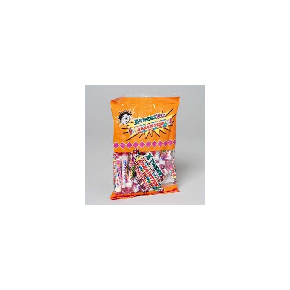Bulk Buys X Treme Sour Smarties Candy   Case of 12