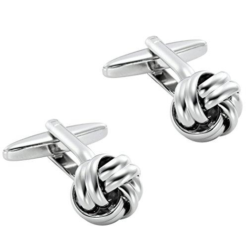 Men's Nautical Knot Stainless Steel Cufflinks