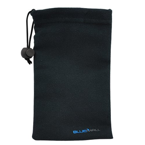 BlueMall Microfiber Sleeve Pouch Cover Case - Black