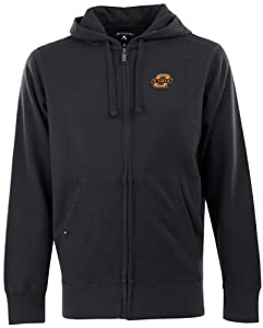 Oklahoma State Signature Full Zip Hooded Sweatshirt (Team Color) by Antigua