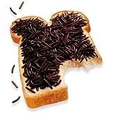 De Ruijter Chocolade Hagel slag Puur (Dark Chocolate Sprinkles)Schokoladen Streusel