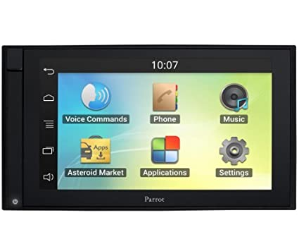 Parrot Asteroid SMART Digital Media Receiver with Navigation, Apps, Multimedia and Hands-Free Bluetooth Portable Consumer Electronic Gadget Shop