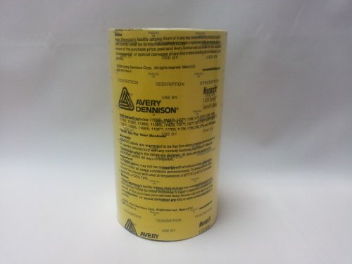 Monarch 1153description du produit sur//utilisation par étiquettes 6000étiquettes/6bobines