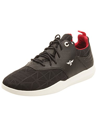 Creative Recreation Men's Deross Sneakers, Black/White Mesh, 11 D(M) US