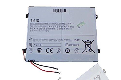 vhbw Batterie 6700mAh (3.7V) pour tablette netbook Motorola Droid XYBoard 10.1, Droid Xyboard MZ617 remplace L-L-L DC110510, SNN5896A.