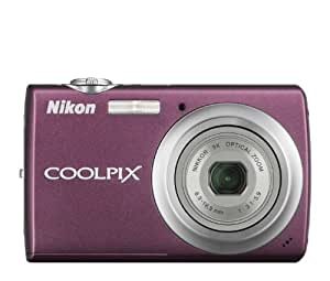 Nikon Coolpix S220 10MP Digital Camera with 3x  Optical Zoom and 2.5 inch LCD (Plum)