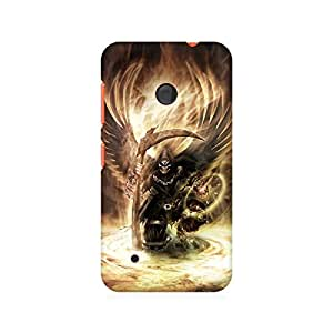 Mobicture Girl Abstract Premium Printed Case For Nokia Lumia 530