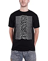Joy Division Unknown Pleasures Radio Waves Official Mens New Black T Shirt