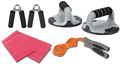 Ultega 4-in-1 Fitness Set by Summary USA, Inc