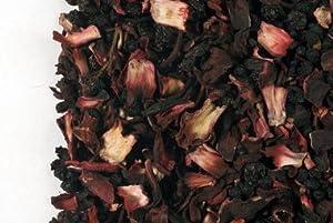 USA Hibiscus Flower Organic Hawaiian Herbal Loose Leaf Tea 1/2 Pound Bag