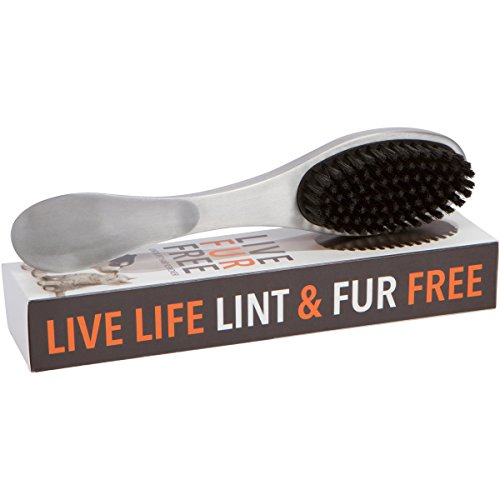 Stainless Steel Dog Hair Cat Hair Lint Brush Lint Remover for Clothes, Fabric and Upholstery (Laundry Hair Remover compare prices)