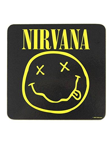 Unisex-Adulti - Official - Nirvana - Sottobicchieri