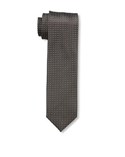Ermenegildo Zegna Men's Patterned Tie, Brown