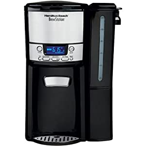 Black BrewStation 12-Cup Dispensing Coffeemaker with Removable Reservoir