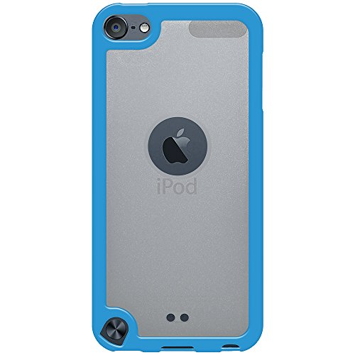 Amzer SlimGrip Hybrid Case Cloudy/ Blue for iPod Touch 5th Gen