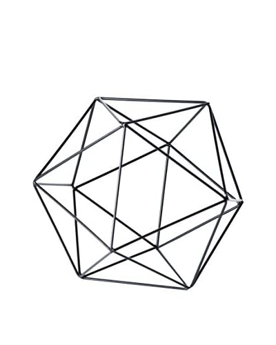 Torre & Tagus Polygon Frame Décor Sphere, Medium