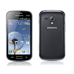 Samsung GT-S7562-BK Galaxy S Duos Android Smartphone with Dual SIM, 5MP Camera, A-GPS support and LED Flash