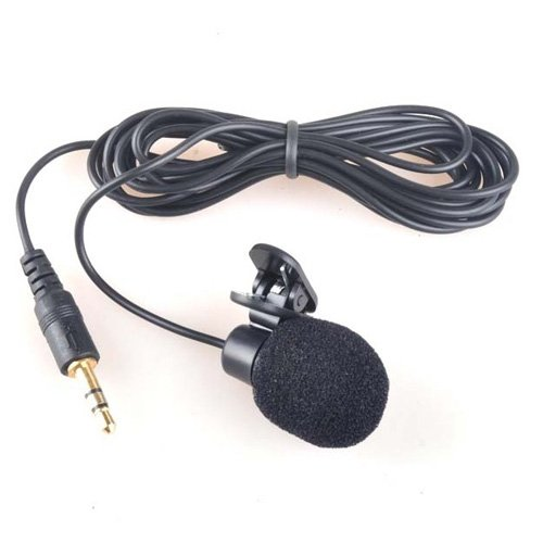 Sodial(Tm) 3.5 Mm Computer Clip-On Mini Microphone