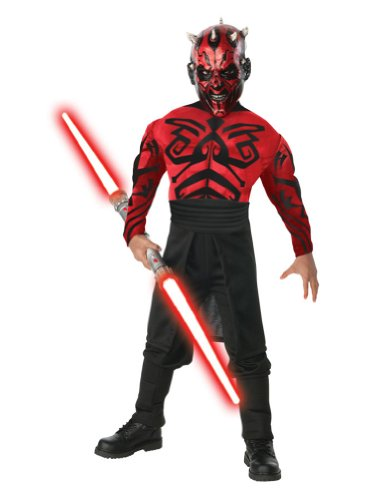 Halloween Costumes Item - Darth Maul Adult Costume Muscle