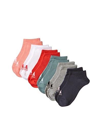 adidas 6tlg. Set Socken Per No-Sh mehrfarbig