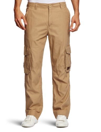 Animal Volkel Relaxed Men's Cargo Trousers Buff X-Large - CL3SC099-N43-36