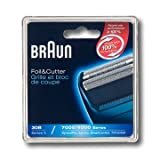 Braun Series 3 Combi 30B Foil and Cutter Replacement Pack (Formerly 4700,7000)