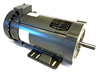 Baldor Cdp3455 56c Frame Tefc Dc Motor 1 Hp 1750 Rpm