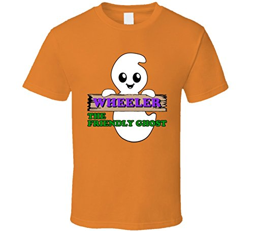 Wheeler the Friendly Ghost Movie Parody Halloween Costume Name T Shirt
