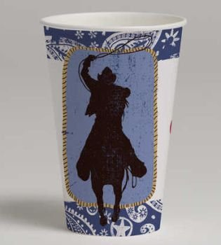 Western Lasso 12oz Cups