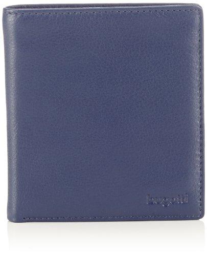Bugatti Bags City Line, Portadocumenti e carte di credito unisex adulto, Blu (Blau (blau 05)), 10x12x1 cm (B x H x T)